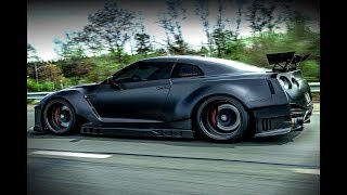 Download NISSAN GTR R35 Big Turbo & Exhaust Sounds!!! Video