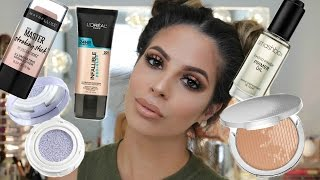 Download Testing NEW Makeup First Impressions tutorial DRUGSTORE & HIGHEND Video