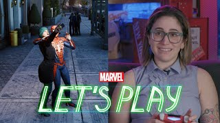 Download Gaby Dunn presses the ″crime″ button in Marvel's Spider-Man for PS4 Video