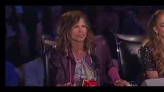 Download Steven Tyler's Leers on American Idol (Jimmy Kimmel Live - 1/16/13) Video