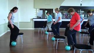 Download Seated Seniors Exercise Class Clip Hockley Essex Video