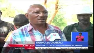Download Maajabu ya Uganga: Televisheni yakwama kichwani mwa mshukiwa wa wizi Teso Video