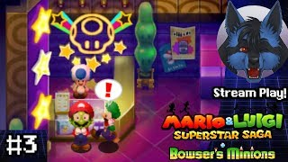 Download Stream Play! Bluebomberimo » Mario & Luigi: Superstar Saga + Bowser's Minions (Part 3) Video