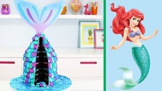 Download Easy Mermaid Cake - How to Make a Little Mermaid Tail Cake - YouTube Video