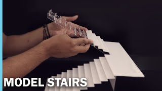 Download MODEL STAIRS- HOUSE IN BRICKLAYING - MINI CASA EN LADRILLO Video