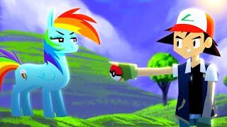 Download Pokémon vs. My Little Pony - ANIMEME RAP BATTLES Video