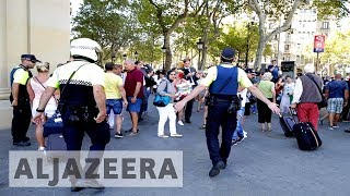 Download Van ploughs into Barcelona crowd killing at least 13 Video