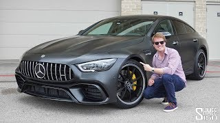 Download THIS is the New Mercedes AMG GT 4-Door 63S! | FIRST DRIVE Video