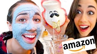 Download TESTING THE WEIRDEST AMAZON PRODUCTS! Video