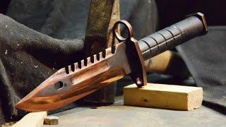 Download M9 Bayonet CS:GO - Knife Making Video