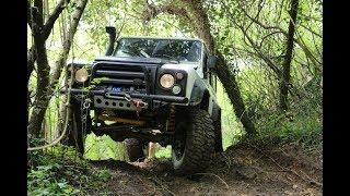 Download Land Rover Defender 110 TD5 37''/13 M-16 **OFF-ROAD** Video
