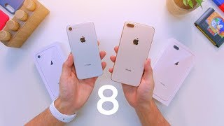Download iPhone 8 vs 8 Plus Unboxing & Comparison! Video