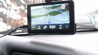 Download WayteQ xTAB 50 GPS - prototípus működés közben Video