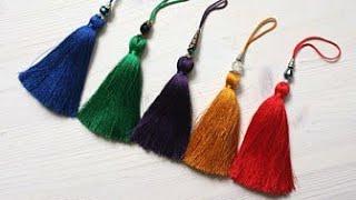 Download How to make Tassels DIY / multicolour silk thread Resham tassels tutorial / Tassels Jewellery Video