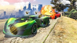Download EXTREME DODGE THE 1000 GRENADES CHALLENGE! (GTA 5 Funny Moments) Video