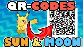 Download HOW TO USE QR CODES IN POKEMON SUN AND POKEMON MOON!!! Video