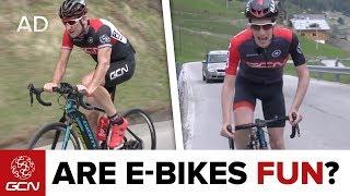 Download Are E-Bikes Fun? Road Bike Vs Road E-Bike Video