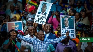 Download Zimbabwe's next leader Emmerson Mnangagwa prepares to take power Video