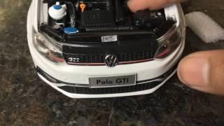 Download Unboxing of Mini Volkswagen POLO 1/18 Diecast Video