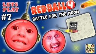 Download REDBALL 4 is BACK! Chase & Dad go to SPACE 2 Battle for the Moon Levels 46-55 (Part 7 Gameplay) Video