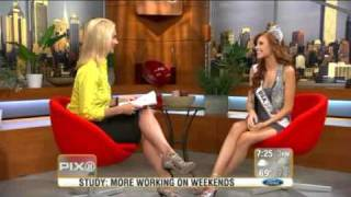 Download Alyssa Campanella , Miss USA on PIX11 Morning News Video
