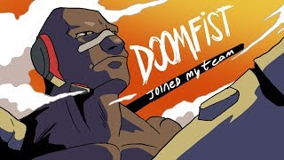 Download DOOMFIST JOINS MY TEAM (OVERWATCH ANIMATION) Video