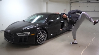 Download MY BRAND NEW AUDI R8 REVEAL Video