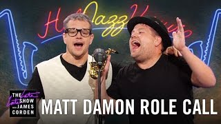 Download Matt Damon Acts Out His Film Career w/ James Corden Video