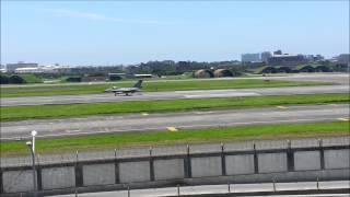 Download 少見的 碰見 4 台戰鬥機正起飛 近距離的畫面 [饡六溢]-金磚堅果 Video
