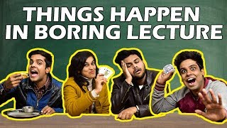 Download Things Happen in Boring Lecture   The Half-Ticket Shows Video