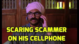 Download Scaring scammer on his personal phone number Video