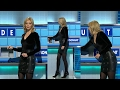 Download Rachel Riley | Monday 6th Feb 2017 | Leather skirt and studded boots Video