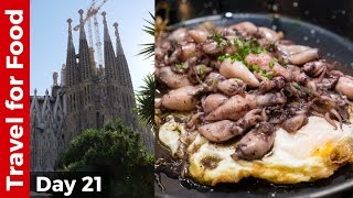Download Barcelona Food Tour at LA BOQUERIA and Sagrada Familia - Barcelona, Spain, Travel Guide! Video