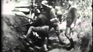 Download U.S. troops and Red Cross in the trenches before Caloocan Video