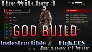 Download The Witcher 3: THE GOD BUILD - MOST OP BUILD IN GAME! NG+/DM (SEE DESCRIPTION FOR UPDATE) Video