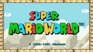 Download Super Mario World - SNES - Full Playthrough Video