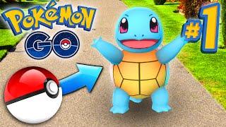 Download Pokemon GO Episode #1 - CATCHING POKEMON! Video