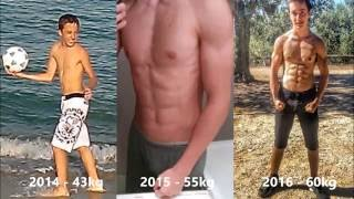 Download 1 Year Body Transformation Calisthenics (Italy) Video