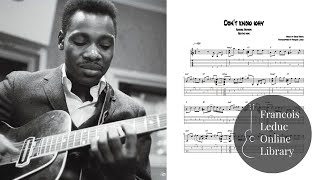Download Don't Know Why - George Benson (Transcription) Video
