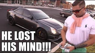 Download Buying a CTS-V Went STRAIGHT to His Head! (Can't Believe This Guy!!) Video
