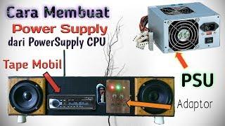 Download Membuat adaptor dari power supply komputer untuk tape Mobil dll Video