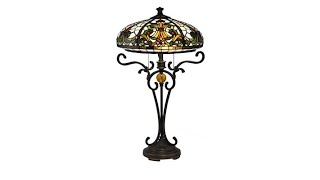 Download Dale Tiffany Boehme Tiffany Style Table Lamp Video