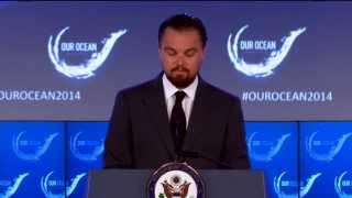 Download Leonardo DiCaprio Delivers Remarks at 2014 Our Ocean Conference Video