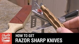Download How to Sharpen Kitchen Knives Video