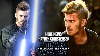 Download The Rise Of Skywalker Hayden Christensen HUGE News Revealed (Star Wars Episode 9) Video