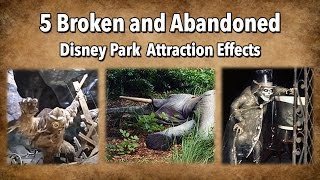 Download Yesterworld: 5 Broken and Abandoned Disney Park Attraction Effects Video