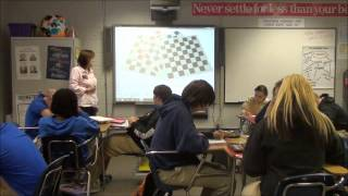Download Mrs. Ward teaches her Algebra 1 class. Video