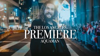 Download A very special night at the Aquaman LA Premiere   Jason Momoa Video