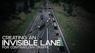 Download Cities: Skylines | Creating an Invisible Lane for Contraflow Traffic Video
