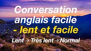 Download Conversation anglais facile - lent et facile Video